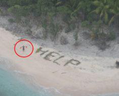 Estuvo atrapado en una isla durante 9 años hasta que un niño de 6 años lo encontró con un celular