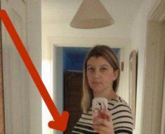 Esta chica se tomó una selfie y meses después lloraba al mirar esta foto