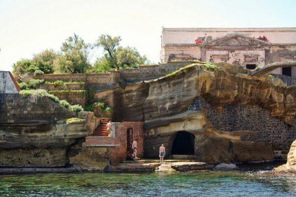 Isla de la Gaiola, Nápoles