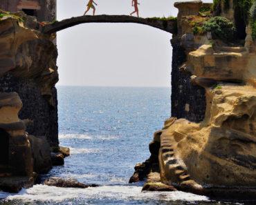 La isla maldita y encantada de Gaiola, Nápoles