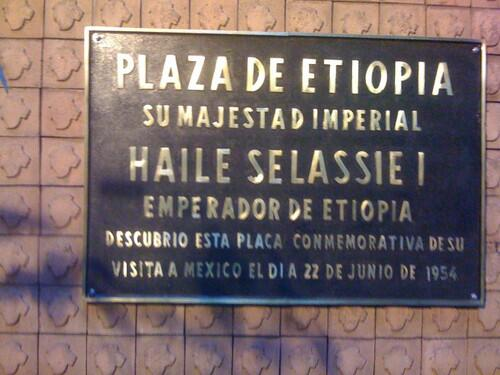 ¿Por qué hay un Metro Etiopía si ninguna calle se llama así?