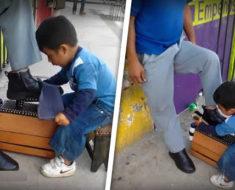 Este niño oaxaqueño de 5 años trabaja 12 horas para mantener a sus hermanos