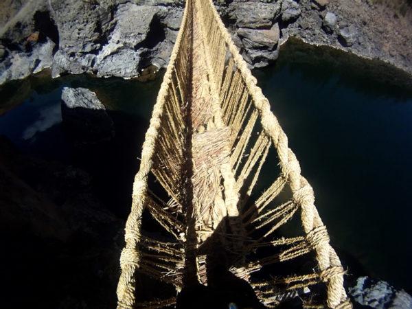 Q'ueswachaka, el último puente inca