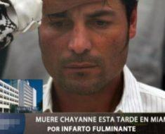 Rumores en redes sociales hablan de la muerte de Chayanne
