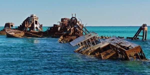 Tangalooma Wrecks en Moreton Island