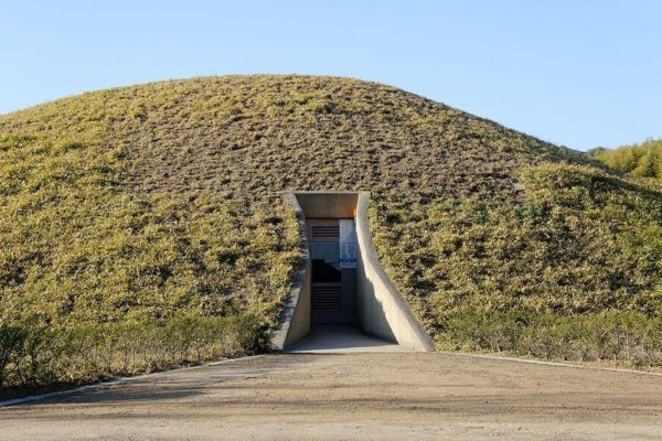tumbas kofun kansai japon