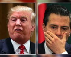 Este es el aterrador mensaje que Trump le envió a Peña Nieto y a todos los mexicanos