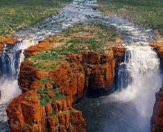 cascadas cataratas King George Falls, en Kimberley, Australia