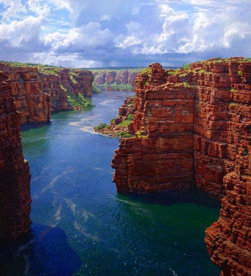 cataratas King George Falls, en Kimberley, Australia