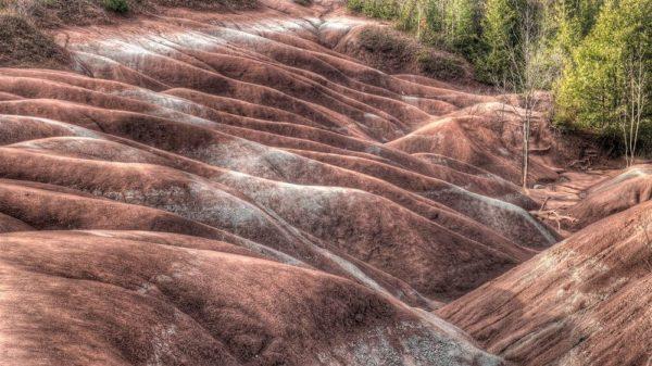 Cheltenham Badlands en Canadá
