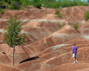 El planeta Marte en la Tierra | Cheltenham Badlands en Canadá