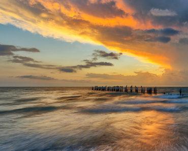 """Nadie que entra a este lago en el Golfo de México es capaz de """"regresar vivo"""""""