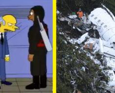 Los Simpsons lo hicieron de nuevo, predijeron la caída del avión del equipo brasileño