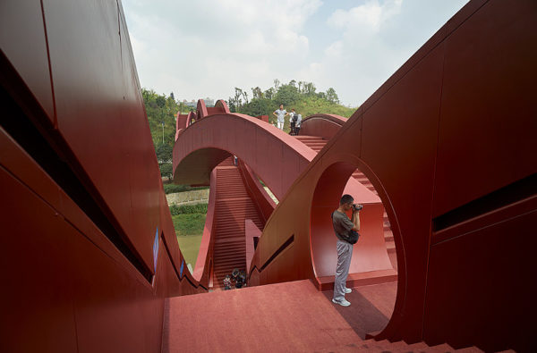 Lucky Knot, un puente impresionante en China