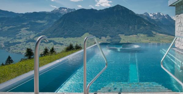 piscina hotel villa honegg suiza