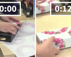 Aprende a envolver regalos en segundos con este método japonés