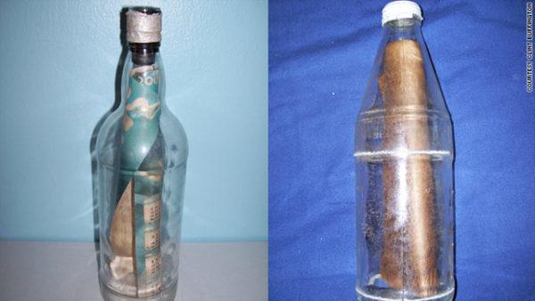 Lanzaron un mensaje en una botella al océano y décadas más tarde llegó hasta su hija