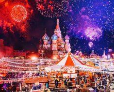 Cómo celebran la Navidad en Moscú, Rusia