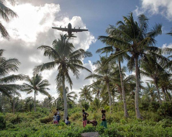 Christmas Drop Navidad en Micronesia