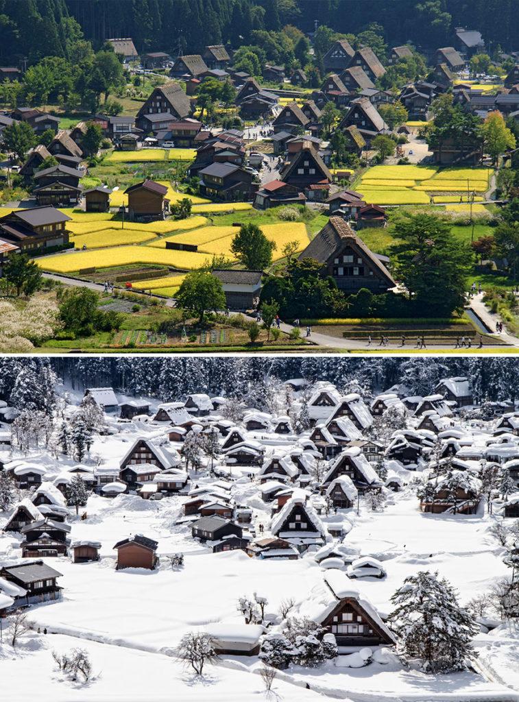 15 Fotos de antes y después de las preciosas transformaciones invernales