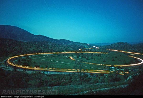 Tren Tehachapi Loop California
