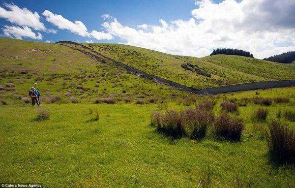 El terremoto en Nueva Zelanda creó un muro de 5 metros de altura y modifico el paisaje