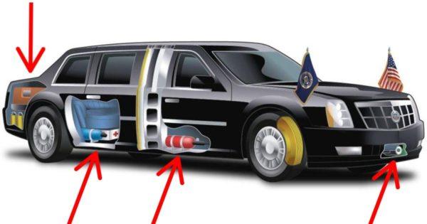 10 cosas sobre el auto presidencial de Trump que te dejarán con la boca abierta