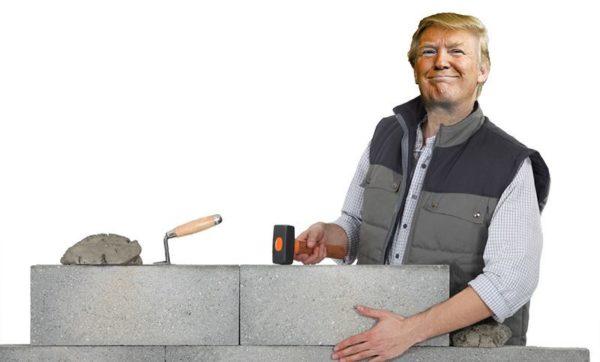 donald trump muro fronterizo de mexico y estados unidos