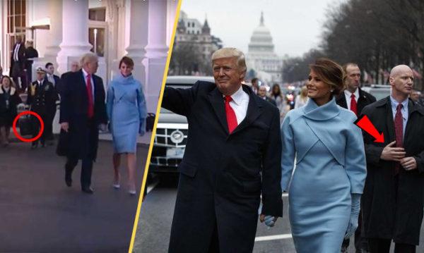 el día en que Trump se convirtió en presidente