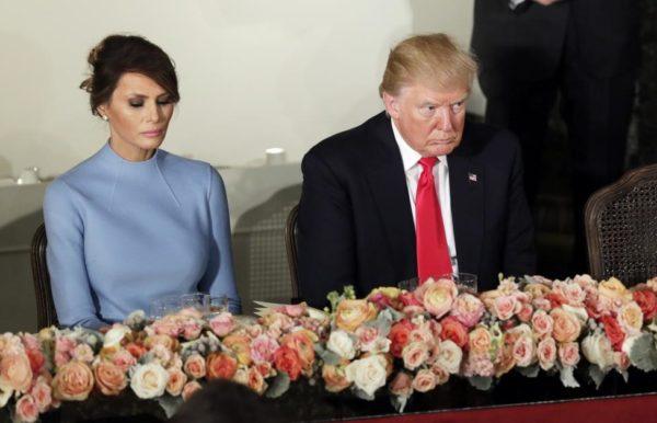 Mira el escalofriante motivo por el que la esposa de Trump siempre sale triste en la fotos