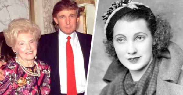 Esta es la trágica historia de la madre de Donald Trump