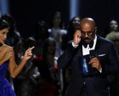 Mira cómo se vengó la ex Miss Universo del presentador del certamen del año pasado