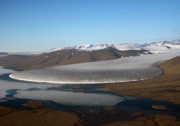 glaciar pata de elefante groenlandia