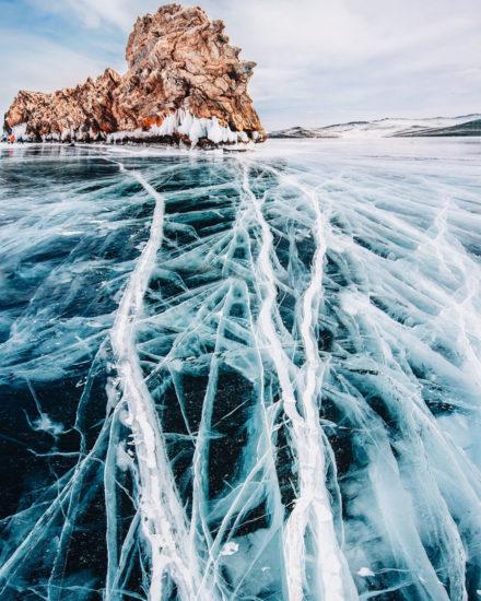 Este es el lago Baikal, el más profundo del planeta