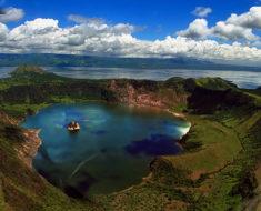 Taal, el pequeño lago en una isla que está dentro de otro lago