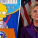 Los Simpsons predicen que Hillary sí será presidente, pero solo si…