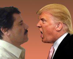 Narcos mexicanos se burlan de Donald Trump