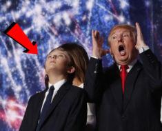 Se filtra oscuro secreto sobre el hijo de Trump
