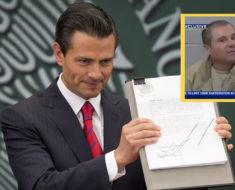 peticion mexico chapo