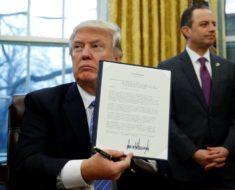 Mira cuál fue la primera orden que dio Donald Trump. Nada será igual.