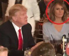 Así se comporta Melania Trump cuando su esposo no la está observando