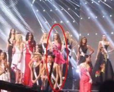 El momento que casi nadie vio en Miss Universo ya se volvió viral