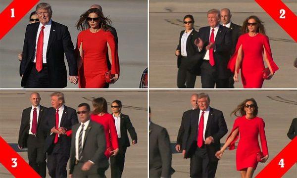 El último gesto de desprecio de Trump a Melania