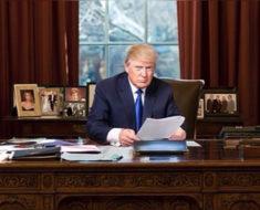 Esto es lo que Donald Trump hace en la Casa Blanca