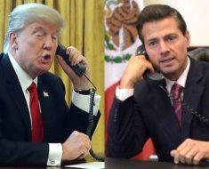 Filtran humillante diálogo telefónico de Donald Trump con Peña Nieto