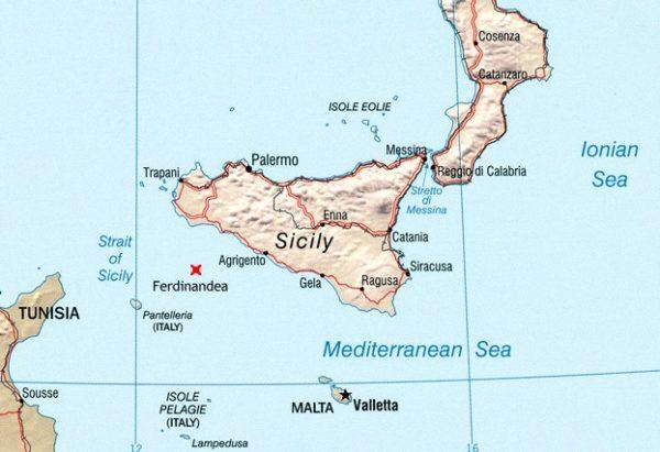 isla ferdinandea mediterraneo