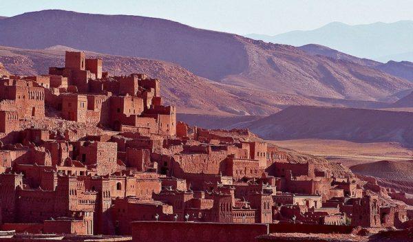 Ksar de Ait Ben Hadu, una auténtica ciudad de cuentos árabes