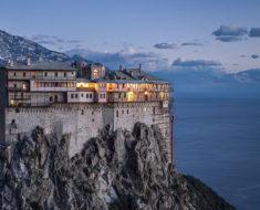 Este es el Monte Athos, Grecia