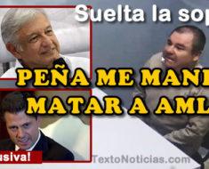 """Peña Nieto le pidió a """"El Chapo"""" que matará a AMLO, pero como se negó fue extraditado"""