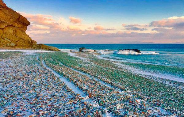 playa de cristal bahia ussuri vladivostok rusia